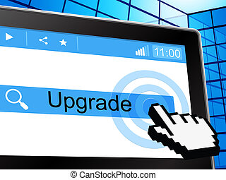 Upgrade Update Shows Better Refurbish And Improved - Update...