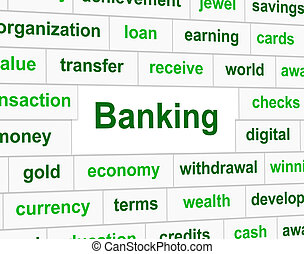 Finances Banking Indicates Investment Figures And Accounting