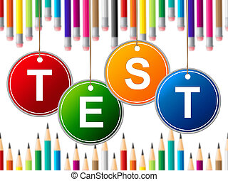 Education Exam Means Questionnaire College And Learned -...