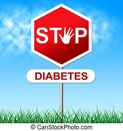 Stop Diabetes Represents Stopping Hypoglycemia And Insulin -...