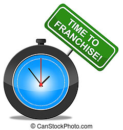 Time To Franchise Represents Commercial Concession And Biz -...