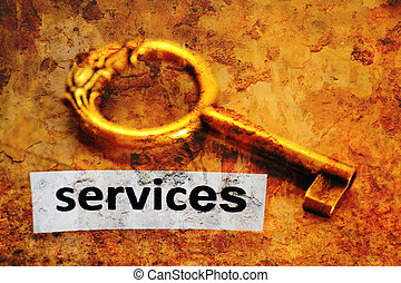 Services and key concept