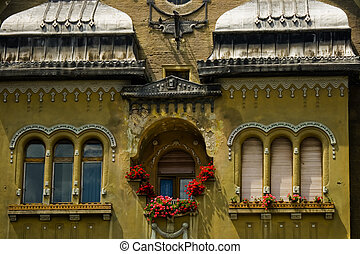 Historic building (14) - Detail from historic building on...