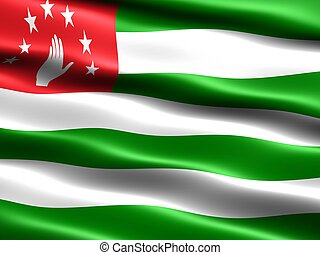 Flag of Abkhazia