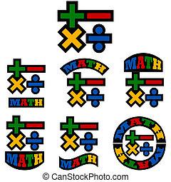 Math icons