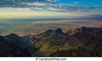 Steens Mountain Summit Sunrise 666 - Time lapse of a...