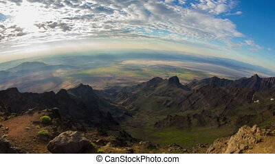 Steens Mountain Summit Sunrise 676 - Time lapse of a...