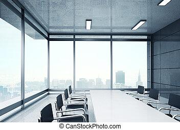 grande, escritório