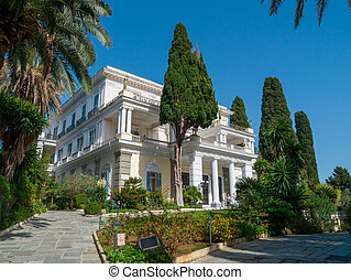 Achillion palace, Corfu island , Greece