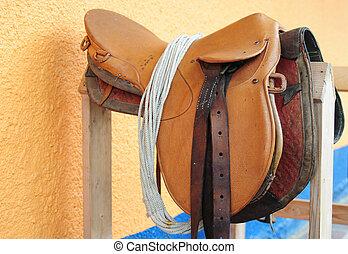 Saddle - Horse saddle