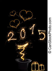 Magical new year 2015 - Magical new year Magical fireworks...