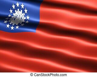Flag of Myanmar