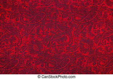 Paisley pattern textile - Traditional paisley pattern...