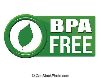 BPA free button