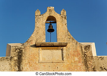 vintage Mexican church bell