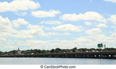 Time Lapse 408 bridge Orlando Florida
