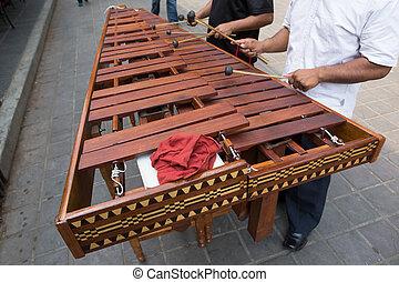 Marimba, jogadores, México