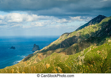 Tenerife rocks and mountains - Tenerife island landscape...