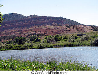 Red Buttes Natrona County Wyoming