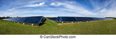 Solar water heating system, great scale