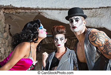 Jealous Cirque Clown - Jealous cirque performer in love...