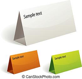 Table talker - Table talker, vector color set