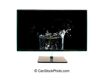 High definition modern computer monitor