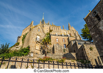 Monastery of Mont Saint-Michele - Normandy