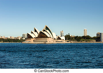 Sydney Opera House - The Sydney Opera House on Bennalong...