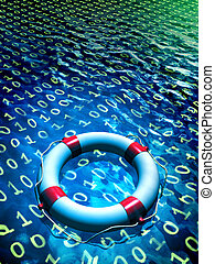 Data recovery - Lifesaver floating in a binary data sea...