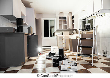Home renovation - Painting - Mess of All kind of Painting...