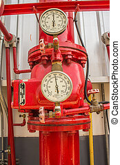 Water sprinkler and fire fighting system - Water sprinkler...
