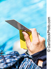 Freediving White Card Result During Official AIDA...