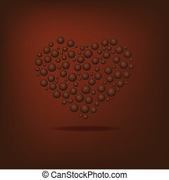 Heart of the bubbles
