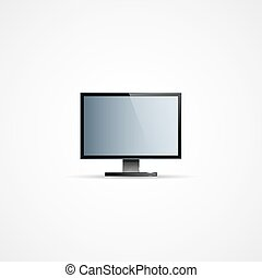 TV Flat Screen Icd Illustration, Graphic Concept For Your...