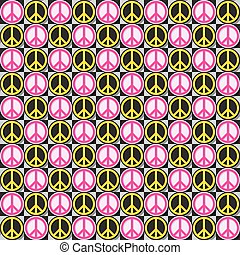 Flower Power pattern - Flower Power , seamless repeating
