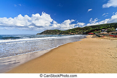 La Biodola beach - Isle of elba - La Biodola is a sandy...
