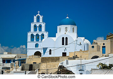 Orthodox Church in Pyrgos. - Orthodox Church in Pyrgos,...
