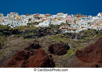 City Ia - City Ia, Santorini island, Greece