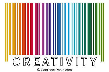 barcode CREATIVITY