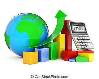 Business finance, statistics, analytic, tax and accounting