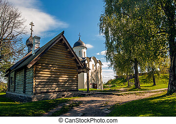 Wooden Church in Staraya Ladoga