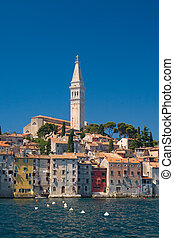 City Rovinj, Croatia - Old coastal city Rovinj in Croatia