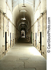 Prison cell block - A old prison cell block