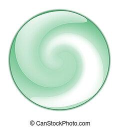 Swirl Button