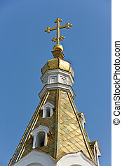 Intercession Cathedral in Samara city. Built in 19th...