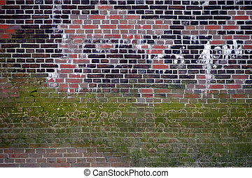 Striking Wall - The photograph of a striking wall with...