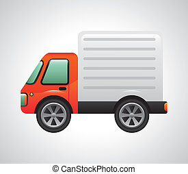 truck design - truck graphic design , vector illustration