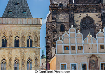 The Church of Mother of God in front of Týn - The gothic...