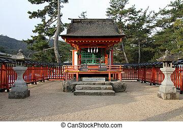 Kiyomori Shrine in Miyajima, Japan